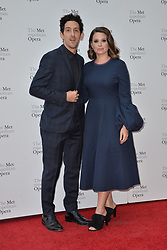 September 24, 2018 - New York, NY, USA - September 24, 2018  New York City..Adam Shapiro and Katie Lowes attending Metropolitan Opera Opening Night at Lincoln Center on September 24, 2018 in New York City. (Credit Image: © Kristin Callahan/Ace Pictures via ZUMA Press)