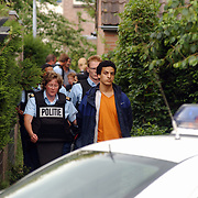 Aanhouding verdachte met wapen Amer Huizen, bleek later speelgoedpistool