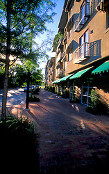 Stock photo of the exterior of downtown Hosuton condominiums and townhomes