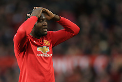 26th December 2017 - Premier League - Manchester United v Burnley - Romelu Lukaku of Man Utd looks dejected - Photo: Simon Stacpoole / Offside.