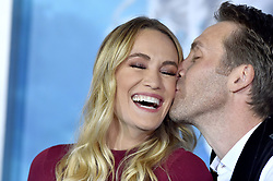 """Premiere of Warner Bros. Pictures' """"Aquaman"""". TCL Chinese Theatre, Hollywood, California. 12 Dec 2018 Pictured: Philippe Cousteau Jr.,Ashlan Gorse Cousteau. Photo credit: AXELLE/BAUER-GRIFFIN / MEGA TheMegaAgency.com +1 888 505 6342"""