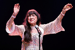 © Licensed to London News Pictures . 29/05/2014 . Manchester , UK . JUDITH DURHAM . The Seekers perform at the Bridgewater Hall this evening (Thursday 29th May 2014) . The Australian folk-pop quartet are celebrating their 50th Anniversary together . Photo credit : Joel Goodman/LNP