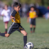 Ballistic United in a Youth Soccer game at Pleasanton Youth Soccer Field, Pleasanton CA on 10/13/18. (Photograph by Bill Gerth)