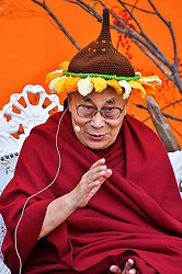 November 17, 2018 - Tokyo Japan - Dalai Lama at the 'One - We Are One Family' event at the Hibiya Open Air Concert Hall. (Credit Image: © Future-Image via ZUMA Press)