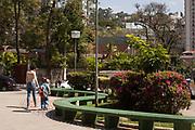Belo Horizonte _ MG, 23 Agosto de 2007<br /> <br /> Praca no bairro Anchieta.<br /> <br /> FOTO: LEO DRUMOND / AGENCIA NITRO