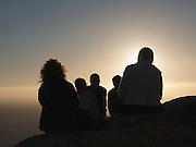 As is tradition, pilgrims and walkers head to Cape Finisterre to mark the end of their journey. As the Sun sets they sometimes burn old memories of the past to look forward to a new future. Its a time for calm reflection.