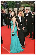 Catherine Zeta Jones and Michael Douglas The 58th Annual Golden Globe Awards<br />January 21, 2001 Beverly Hills, California USA<br />Copyright Photograph by Dafydd Jones 66 Stockwell Park Rd. London SW9 0DA Tel 020 7733 0108 www.dafjones.com