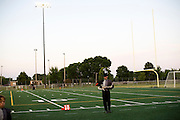 The Oregon Marching Band competes in Kenosha, Wisconsin on July 5, 2009.
