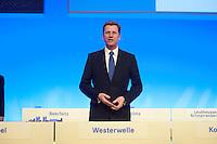 17 JAN 2009, BERLIN/GERMANY:<br /> Guido Westerwelle, FDP Bundesvorsitzender, Europaparteitag der FDP, Estrel Convention Center<br /> IMAGE: 20090117-01-001<br /> KEYWORDS: party congress