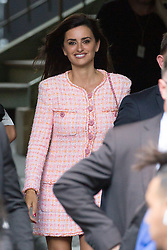 Penelope Cruz leaving Chanel fashion show during Paris Haute Couture Fall Winter 2018/2019 in Paris, France on July 03, 2018. Photo by Nasser Berzane/ABACAPRESS.COM