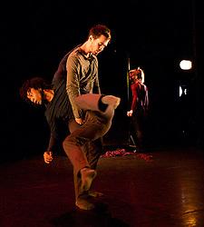 Rambert Dance Company <br /> evening of new choreography 2013 <br /> at Sadler's Wells, London, Great Britain <br /> rehearsal<br /> 17th December 2013 <br /> <br /> <br /> Yimano<br /> Choreography by Mbuelo Ndabeni<br /> Kym Alexander, Lucy Balfour, Carolyn Bolton, Antonette Dayrit, Simone Damberg Wurtz<br /> <br /> <br /> <br /> Entre tu y yo <br /> Choreography by Estela Merlos<br /> Miguel Altunaga, Adam Park, Jon Savage, Hannah Rudd<br /> <br /> Solo<br /> Choreography by Patricia Okenwa<br /> Antonette Dayritt<br /> <br /> Reminiscence<br /> Choreography by Dane Hurst <br /> Luke Ahmet<br /> Lucy Balfour <br /> Adam Blyde<br /> Mark Kimmett, Hannah Rudd<br /> <br /> <br /> Hikikomori<br /> choreography by Malgorzata Dzierzon<br /> Luke Ahmet, Lucy Balfour, Adam Blyde, Carolyn Bolton, Antonette Dayritt<br /> Hannah Rudd,<br /> Simone Damberg Wurtz<br /> <br /> <br /> Photograph by Elliott Franks