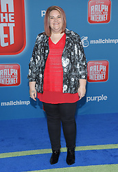 November 5, 2018 - Hollywood, California, U.S. - Candace Payne arrives for the 'Ralph Breaks the Internet' World Premiere at the El Capitan theater. (Credit Image: © Lisa O'Connor/ZUMA Wire)