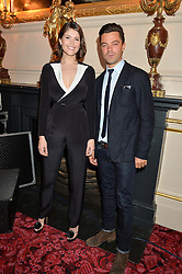 GEMMA ARTERTON and DOMINIC COOPER at the Audi Ballet Evening at The Royal Opera House, Covent Garden, London on 23rd April 2015.