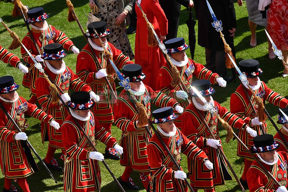 May 21, 2019 - London, London, United Kingdom - Image licensed to i-Images Picture Agency. 21/05/2019. London, United Kingdom. Royal Garden Party at Buckingham Palace in London. (Credit Image: © Pool/i-Images via ZUMA Press)
