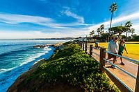 Scripps Park, La Jolla (San Diego), California USA.