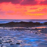 Bob Creek Sunset - Late Dusk - Oregon Coast