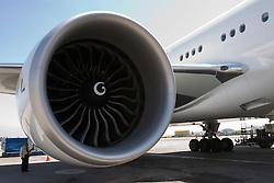 Detalhe da turbina de um Boeing 777 / Boeing 777's engine detail