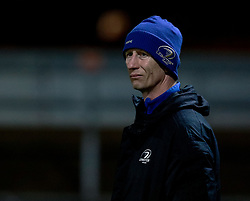 Head Coach Leo Cullen of Leinster<br /> <br /> Photographer Simon King/Replay Images<br /> <br /> Guinness PRO14 Round 10 - Dragons v Leinster - Saturday 1st December 2018 - Rodney Parade - Newport<br /> <br /> World Copyright © Replay Images . All rights reserved. info@replayimages.co.uk - http://replayimages.co.uk