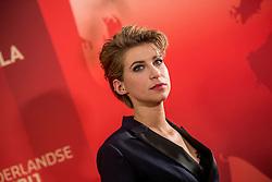 21-12-2016 NED: Sportgala NOC * NSF 2016, Amsterdam<br /> In de Amsterdamse RAI vindt het traditionele NOC NSF Sportgala weer plaats / Rivkah op het Veld (Naarden, 21 oktober 1990) is een Nederlands sportpresentatrice bij NOS Studio Sport.