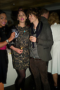 LEAH PRENTICE; DAN COOPEY, The Hayward Gallery 40th birthday Gala. hayward Gallery. South Bank. 9 July 2008 *** Local Caption *** -DO NOT ARCHIVE-© Copyright Photograph by Dafydd Jones. 248 Clapham Rd. London SW9 0PZ. Tel 0207 820 0771. www.dafjones.com.