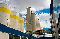 Malt silos, Modelo Brewery (brewing Corona Beer), Guadalajara, Mexico