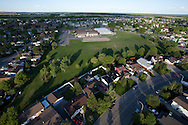 Photo Randy Vanderveen.Grande Prairie , Alberta.10-06-07.Alexander Forbes and the surrounding South Patterson neighbourhood take on a different look from the air. Schools will soon be letting out for the summer vacation.