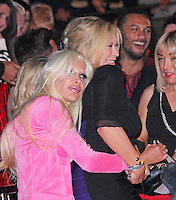 Angelique 'Frenchy' Morgan & Claire King, Celebrity Big Brother Summer 2014 - Live Final, Elstree Studios, Elstree UK, 12 September 2014, Photo by Brett D. Cove