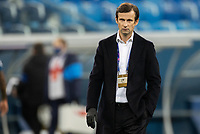 SAINT-PETERSBURG, RUSSIA - OCTOBER 20: Zenit St Petersburg manager Sergei Semak during the UEFA Champions League Group F match between Zenit St Petersburg and Club Brugge KV at Gazprom Arena on October 20, 2020 in Saint-Petersburg, Russia [Photo by MB Media]