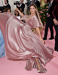 Gisele Bündchen attends The 2019 Met Gala Celebrating Camp: Notes On Fashion at The Metropolitan Museum of Art on May 06, 2019 in New York City. Photo by Lionel Hahn/ABACAPRESS.COM
