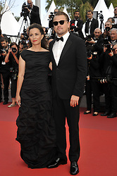 Leonardo Di Caprio and Leila Connersattending The Gangster, The Cop, The Devil premiere, during the 72nd Cannes Film Festival attending the Oh Mercy! premiere, during the 72nd Cannes Film Festival.