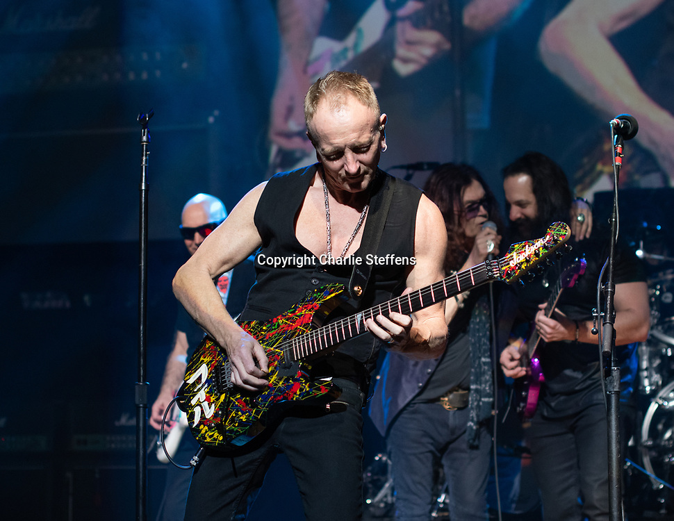 PHIL COLLEN at G3 2018 at the Orpheum Theatre in Los Angeles, California