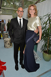 STANLEY TUCCI and FELICITY BLUNT at the Glamour Magazine Women of the Year Awards in association with Next held in the Berkeley Square Gardens, London on 7th June 2016.
