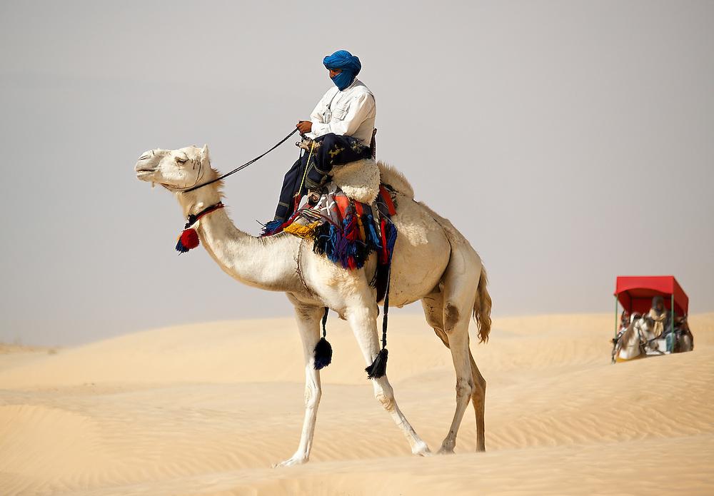 Tunisia -Touareg camel driver