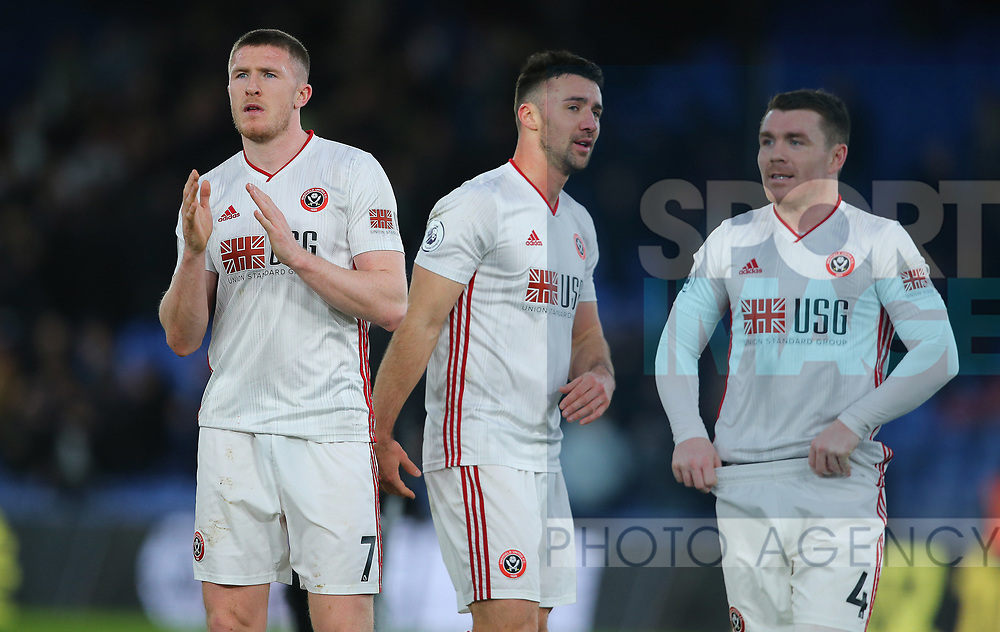 Sheffield United's John Lundstram after the Premier League match at Selhurst Park, London. Picture date: 1st February 2020. Picture credit should read: Paul Terry/Sportimage
