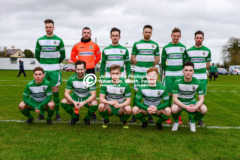Pictured are the Trim Celtic players that were defeated by Bluebell Utd  in the Trim Celtic v Bluebell Utd, Leinster Junior Cup match in Trim/<br /> Back from left: Sean Fitzgerald, Aron Ryan, James Goggins, Colm Carney, Conor Walsh and Mark Leavy.<br /> Front from left: Cillian Corcoran, Brian Faulkner, Eoin O'Connor, Ciaran O'Connell and Jack O'Keefe.  <br /> <br /> Photo: GERRY SHANAHAN-WWW.QUIRKE.IE<br /> <br /> 08-02-2020