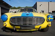 En Volvo P1800 utrustad för racing. Ägare till bilen är Garry Small i Portland. Garry Small hjälpte amerikanarna att få upp ögonen för det svenska bilmärket genom att köra race med sportbilsmodellen Volvo P1800. Portland, Oregon, USA<br /> Foto: Christina Sjögren