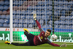 """during the Carabao Cup, third round match at Turf Moor, Burnley. PRESS ASSOCIATION Photo. Picture date: Tuesday September 19, 2017. See PA story SOCCER Burnley. Photo credit should read: Richard Sellers/PA Wire. RESTRICTIONS: EDITORIAL USE ONLY No use with unauthorised audio, video, data, fixture lists, club/league logos or """"live"""" services. Online in-match use limited to 75 images, no video emulation. No use in betting, games or single club/league/player publications."""