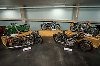 Vintage Motorcycles (Clockwise Left to Right):  1923 Brough Superior, 1952 Velocette LE 200cc, 1949 Matchless G80 500cc, 1960 Velocette Scrambler, 1937 AJS