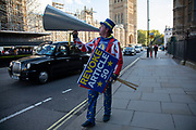 On the day the Prime Minister brings his Brexit bill for a vote at the House of Commons, Anti Brexit pro European Union protesters demonstrating in Westminster on 22nd October 2019 in London, England, United Kingdom. Brexit is the scheduled withdrawal of the United Kingdom from the European Union. Following a June 2016 referendum, in which 51.9% of participating voters voted to leave.