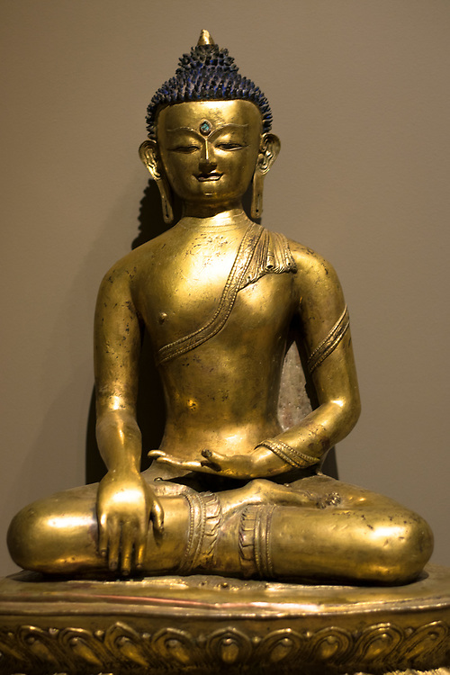 Carlos Michael Museum Visit. Buddha Collection.