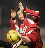Matthew Lockwood.<br /> Leyton Orient v Northampton Town, Coca Cola League 2, London. 14/01/06 Photo by Barry Bland
