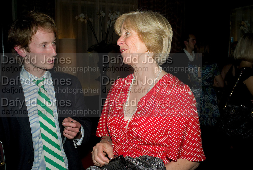 MATHEW BELL AND KATE GRIMMOND, The launch of the new James Bond book Devil May Care, by Sebastian Faulks. 27 May at FIFTY, St James. London *** Local Caption *** -DO NOT ARCHIVE-© Copyright Photograph by Dafydd Jones. 248 Clapham Rd. London SW9 0PZ. Tel 0207 820 0771. www.dafjones.com.