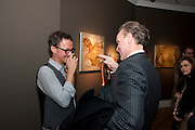 JONATHAN YEO; GARY KEMP;, ' You're Only Young Twice' Jonathan Yeo exhibition. Lazarides. 11 Rathbone Place. London. 9 December 2011.