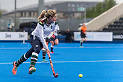Surbiton's Georgie Twigg. Holcombe v Surbiton - Investec Women's Hockey League Final, Lee Valley Hockey & Tennis Centre, London, UK on 29 April 2018. Photo: Simon Parker