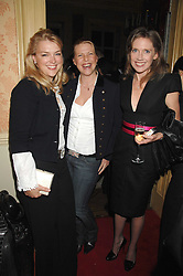 Left to right, LADY DALMENY, SOPHIE THOMPSON and ZOE APPLEYARD-LEY at the engagement party of Vanessa Neumann and William Cash held at 16 Westbourne Terrace, London W2 on 15th April 2008.<br /><br />NON EXCLUSIVE - WORLD RIGHTS