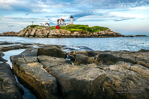 The Nubble Lighthouse, York, Maine<br />