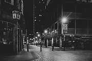 Berwick Street, London Soho district during the Pandemic of Coronavirus April 23.  2020.<br /> Copyright Ki Price