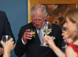 The Prince of Wales attends a dinner at Crawford Art Gallery, as part of his tour of the Republic of Ireland with the Duchess of Cornwall. PRESS ASSOCIATION Photo. PRESS ASSOCIATION Photo. Picture date: Thursday June 14, 2018. See PA story ROYAL Charles. Photo credit should read: Brian Lawless/PA Wire