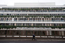 © London News Pictures. File pic dated 02/03/2012. London, UK. Wellington Hospital in London where Prince Friso was being treated. Prince Johan Friso has today (12/08/2013)  died after nearly a year and a half in a coma following a skiing accident Photo credit : Ben Cawthra/LNP