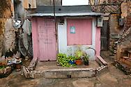 Tiny house in Gibara, Holguin, Cuba.